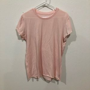 The Laundry Room Tops - Millennial pink tee